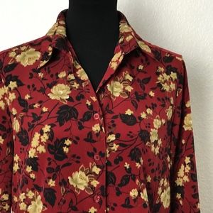 Notations Office Blouse Size M